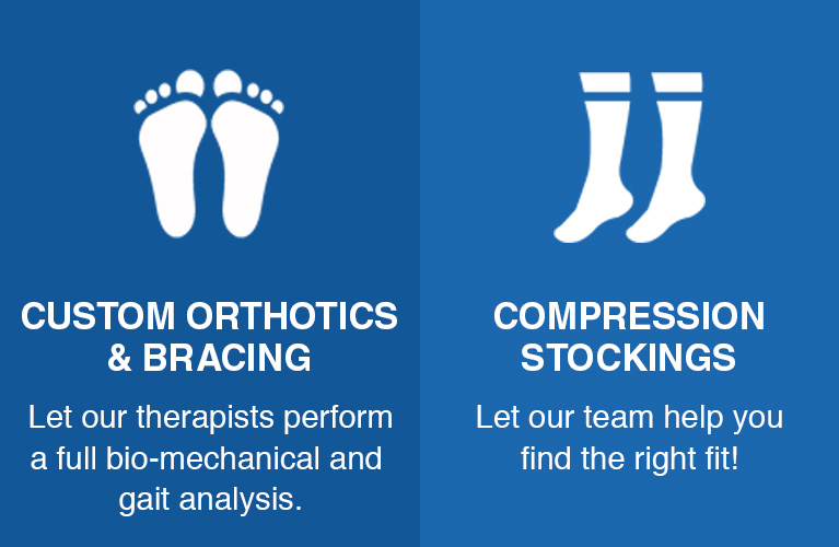 castlemore orthotics compression
