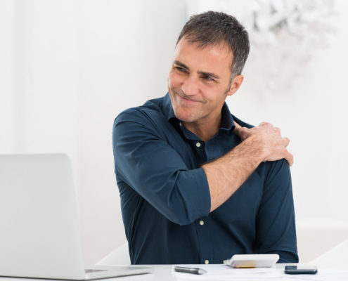castlemore shoulder pain